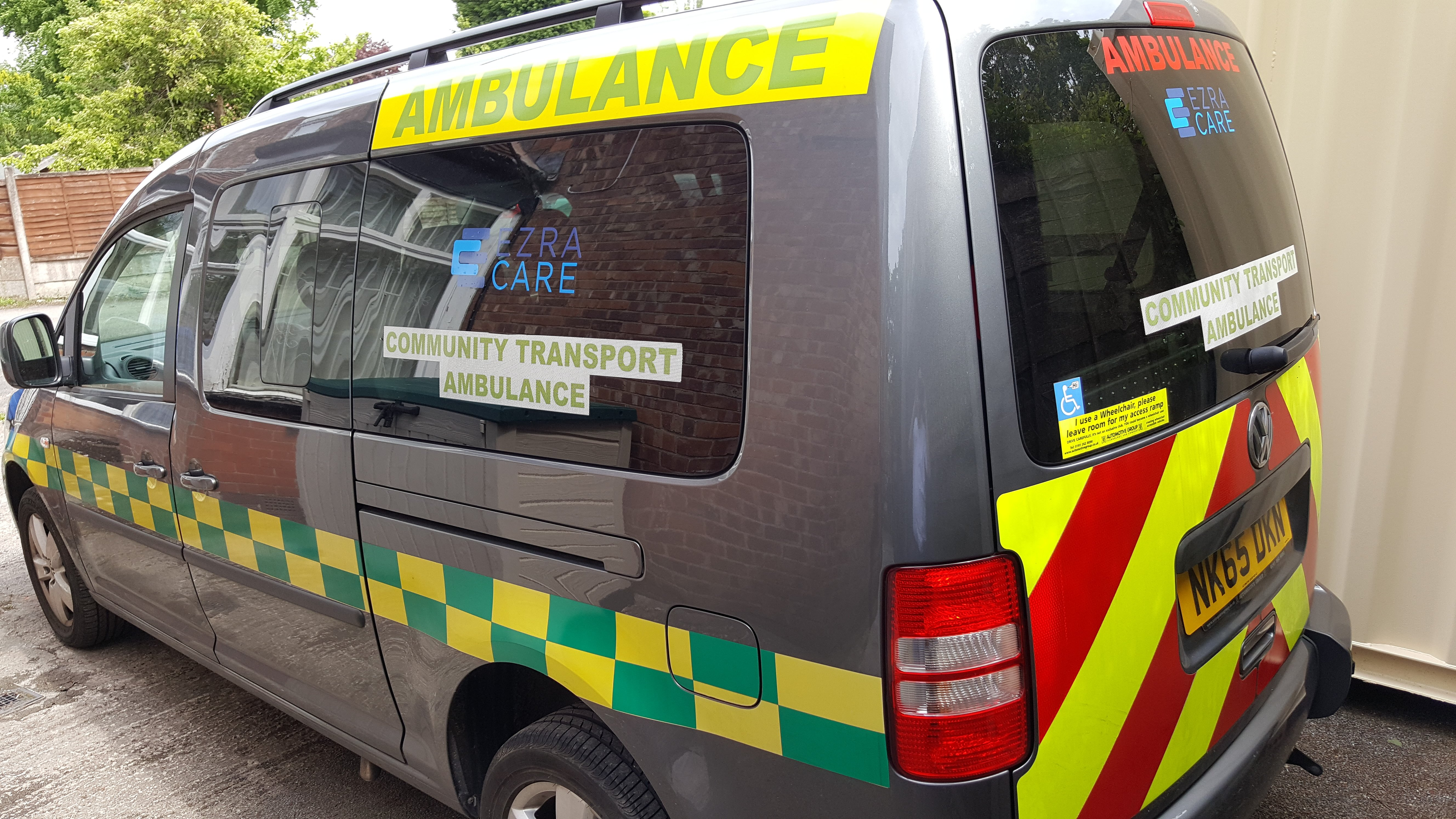 Community transport ambulance service